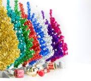 Choinka i ornamenty Fotografia Royalty Free