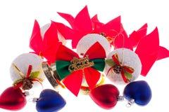 Choinka ornamenty Zdjęcia Royalty Free