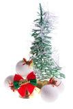 Choinka ornamenty Zdjęcie Royalty Free