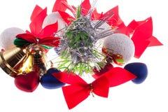Choinka ornamenty Zdjęcie Stock
