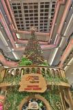choinka przy centrum handlowym 2016 Zdjęcie Stock