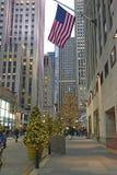 Choinka przy Rockefeller centrum Obrazy Stock