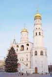 Choinka w Moskwa Kremlin Zdjęcie Stock