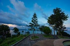 Choinka w Tajlandia przy scenicznym punktem w Chumphon fotografia royalty free