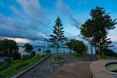 Choinka w Tajlandia przy scenicznym punktem w Chumphon zdjęcia royalty free
