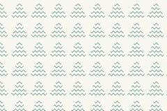 Choinka wzór z zieleń zygzag i trójbok kształtujemy ilustracji