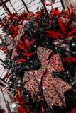 2017 choinka z uroczymi dekoracjami Fotografia Royalty Free