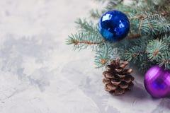 Choinka, zabawek boże narodzenia symbol, nowy rok Wesoło boże narodzenia i Szczęśliwy nowy rok obrazy stock