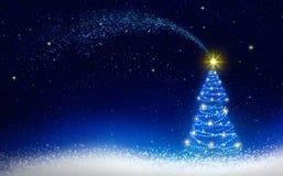 Choinki i błękitnej gwiazdy niebo abstrakcjonistycznych gwiazdkę tła dekoracji projektu ciemnej czerwieni wzoru star white obrazy stock