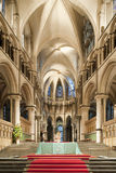 Choir of a beautiful gothic Canterbury Cathedrall royalty free stock image
