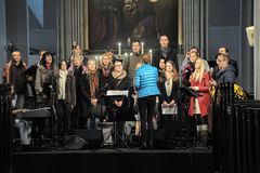 Choir in the church Royalty Free Stock Photos