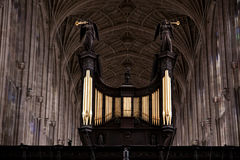 Choir Kings college cambridge University Royalty Free Stock Photos