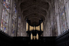 Choir Kings college cambridge University Royalty Free Stock Photography