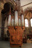 Choir organ of Obernai Royalty Free Stock Photo