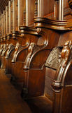 Choir stall Royalty Free Stock Photo