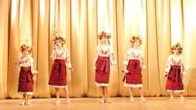 Choir of young girls Stock Photos