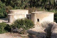 Choirokoitia Unesco-plats i Cypern Royaltyfri Foto