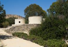 Choirokoitia, Zypern Lizenzfreie Stockbilder