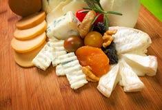 Choise des Käses Lizenzfreies Stockbild