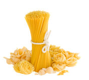 Choise of pasta Royalty Free Stock Images