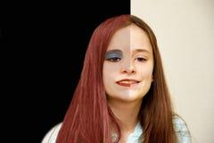 Choises nastoletnia dziewczyna zdjęcia royalty free