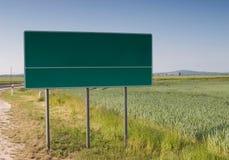 A choisi votre panneau-réclame de blanc de voie Photo stock