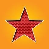 Choisissez l'icône d'étoile dans la couleur orange et jaune illustration stock