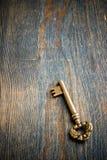 Choisissez la clé antique Photo stock
