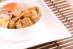 Choisissez la jambe rôtie de poulet Photos stock