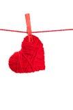 Choisissez le coeur d'amorçage Photos libres de droits
