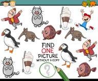 Choisissez le jeu d'école maternelle de photo illustration stock