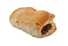 Choisissez le petit pain de saucisse d'isolement Images stock