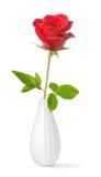 Choisissez rose dans un vase Photos libres de droits