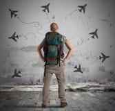 Choisissez votre destination photographie stock