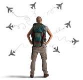 Choisissez votre destination images libres de droits