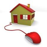 Choisissez votre maison Photos stock