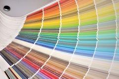 Choix colorés Photographie stock libre de droits