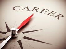 Choix d'orientation de carrière Photos stock