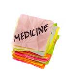 Choix de durée - médecine Photographie stock libre de droits
