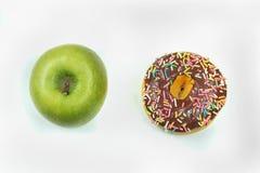 Choix doux de nourriture Image libre de droits