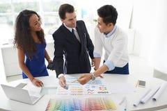 Choix du modèle de couleurs photos libres de droits