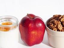 Choix sain pour le petit déjeuner Photo stock