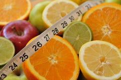 Choix sains pour la poids-perte Photos stock