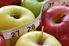 Choix sains pour la poids-perte Photo libre de droits