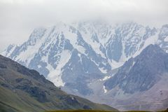 Chok-tal mountain in Kyrgyzstan Stock Photography