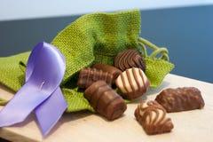 choklad Arkivfoton