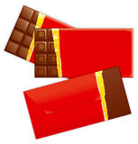 choklad royaltyfri illustrationer