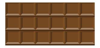 Choklad belägger med tegel bakgrund Fotografering för Bildbyråer