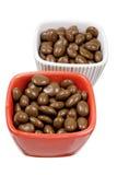Choklad - bestrukna russin Royaltyfri Bild