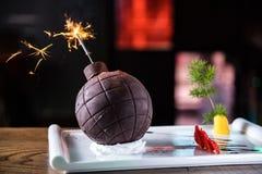 Choklad bombarderar Royaltyfria Foton